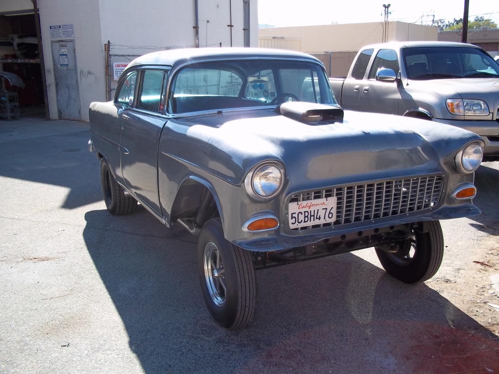 1955 Chevy Gasser Jt Metal Works