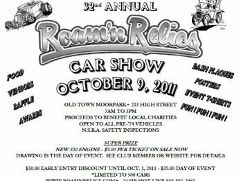 Roam'n Relics 32nd Annual Car Show